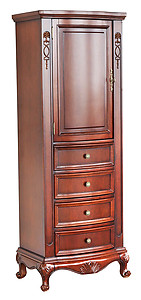Cambridge Linen Side Cabinet - Cherry