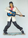 Rock and Roll Singer with Guitar Life Size 6FT