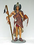 Indian Medicine Man Statue 6FT