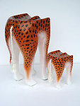 Leopard Animal Stool Small