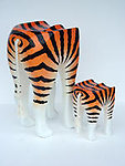 Tiger Animal Stool Small