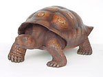 Brown Turtle Life Size Statue