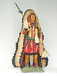 Indian with Spear Statue 6.5FT