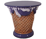 Ice Cream Table- Grape