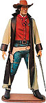 Cowboy Life Size Statue Bounty Hunter