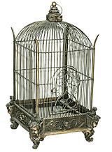 Decorative Bird Cage Conservatory Bronze