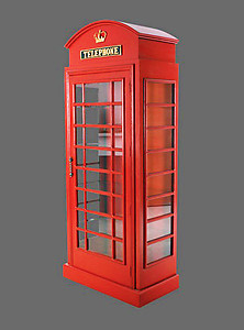 Telephone Booth Cabinet 6FT
