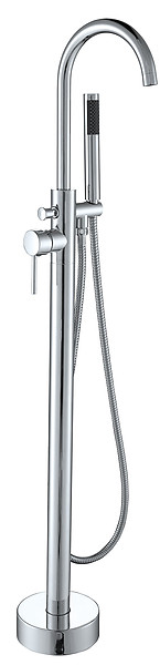 Pescara - Modern Freestanding Tub Faucet Polished Chrome