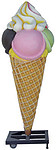 Ice Cream Cone Large Statue 7FT