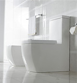 Modern Bathroom Toilet Dual Flush - One Peice Toilet - Bolzano