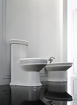 Modern Bathroom Toilet - One Piece Dual Flush - Capani