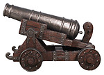 Pirate Cannon Life Size Replica 53