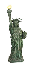 Statue of Liberty Replica 6FT with Functional Light
