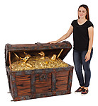Large Pirate Treasure Chest