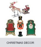 Christmas Decor, Santa Throne, Funny Reindeers, Large Christmas Decorations