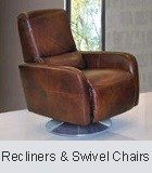 Modern Leather recliners