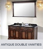 Antique Bathroom Vanities Double