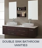 modern bathroom vanities double