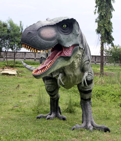 Walking T Rex Dinosaur Huge Statue