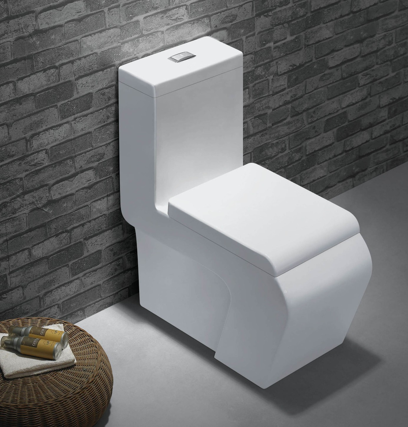 Dolina modern bathroom toilet for Modern toilets for small bathrooms