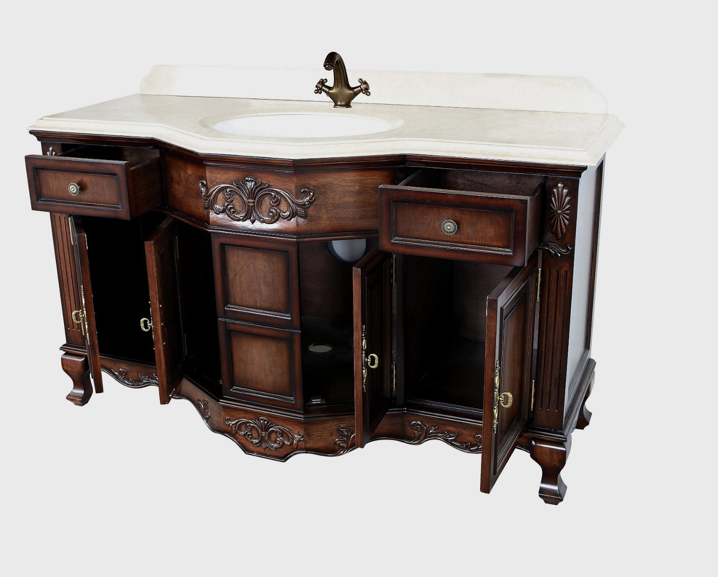 Simple Antique Style Bathroom Vanities  Bathroom Vanity Units Amp Sink