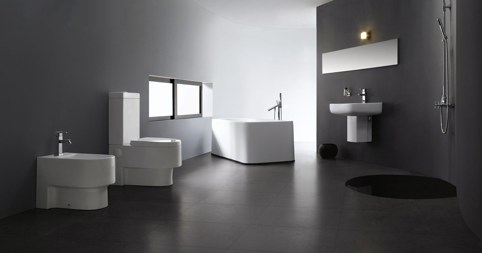 abruzzi modern bathroom toilet. Black Bedroom Furniture Sets. Home Design Ideas