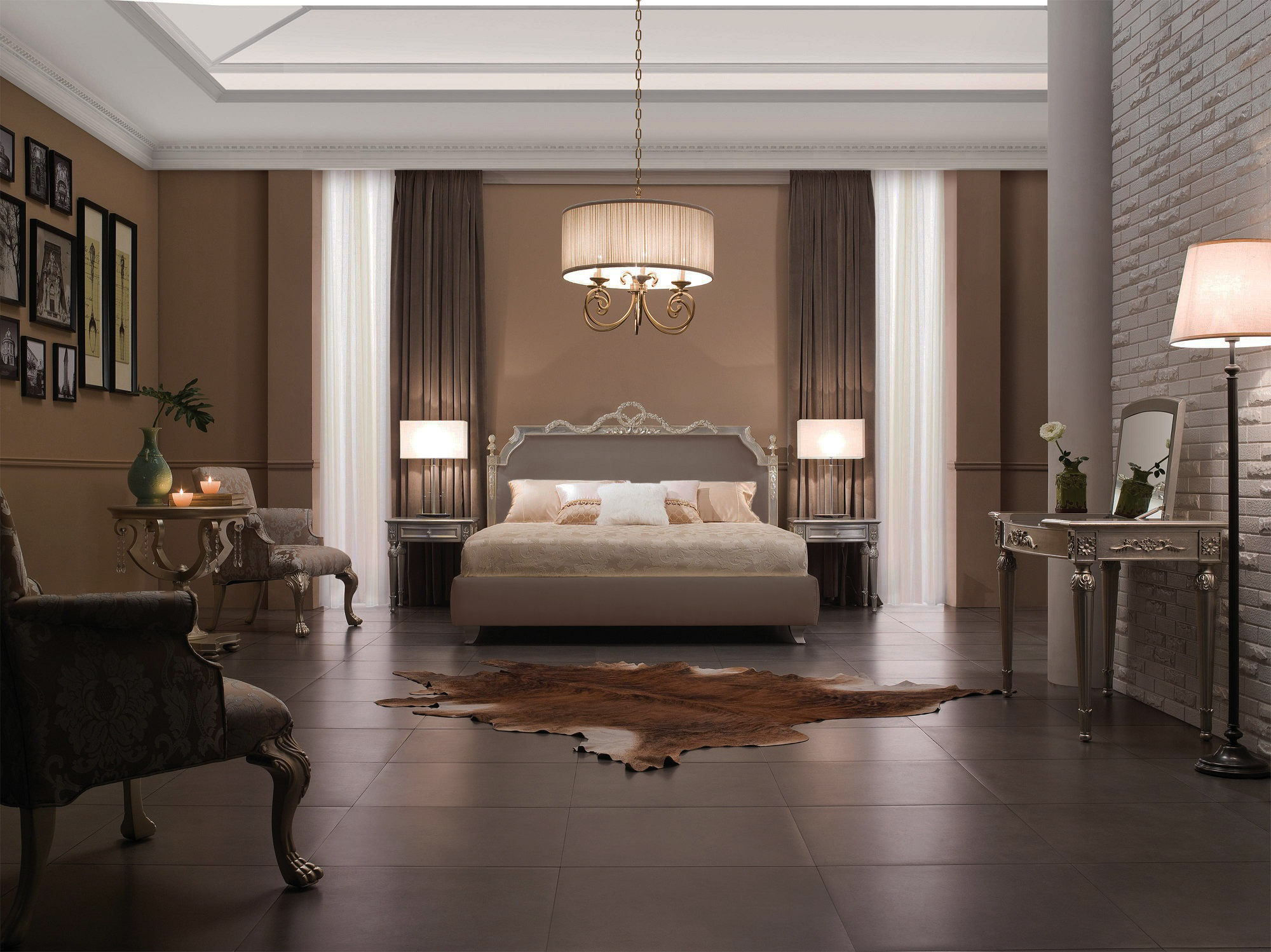 Chambre Baroque Taupe – Raliss