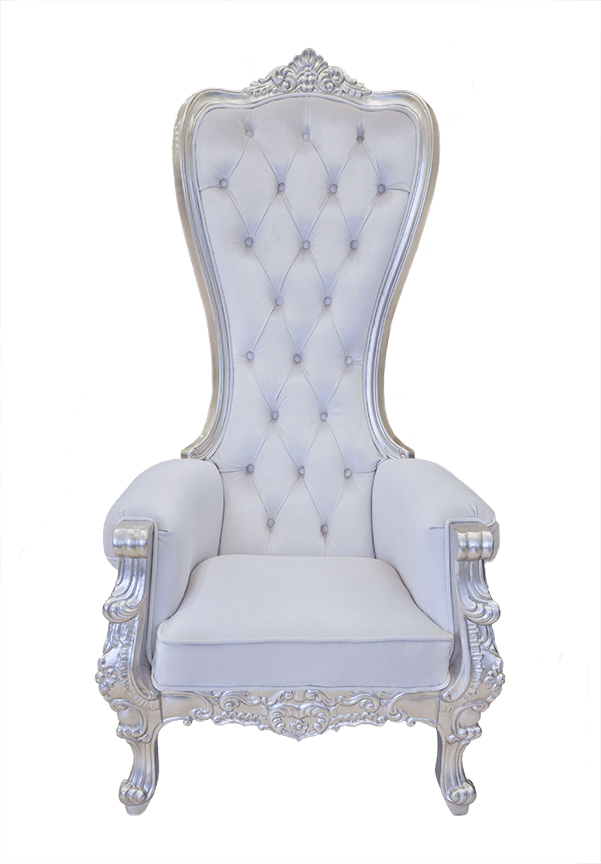 Attirant Click To See Larger Image. Baroque Throne Chair ...