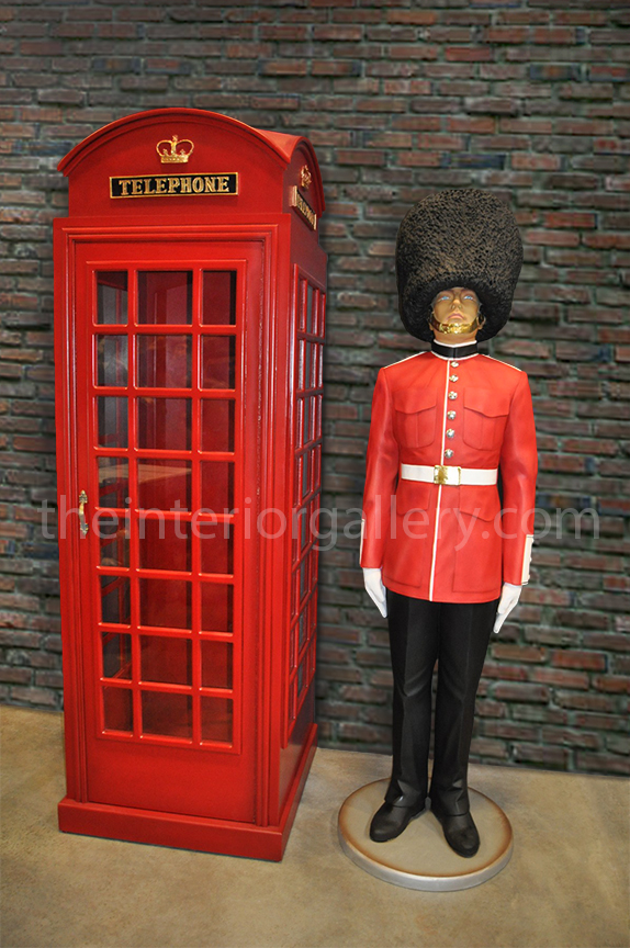 London Red Telephone Booth English Phone Box