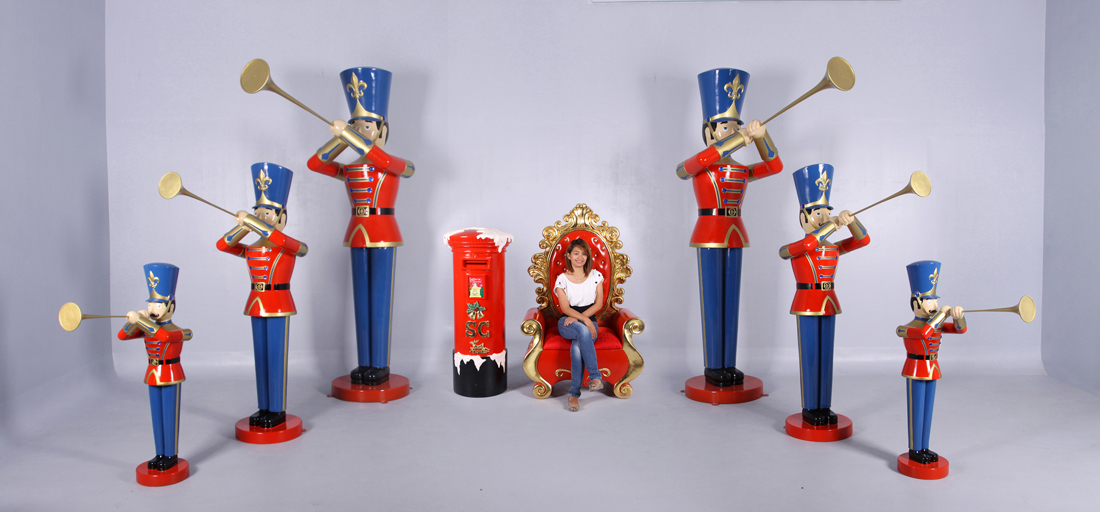 click to see larger image - Christmas Toy Soldiers