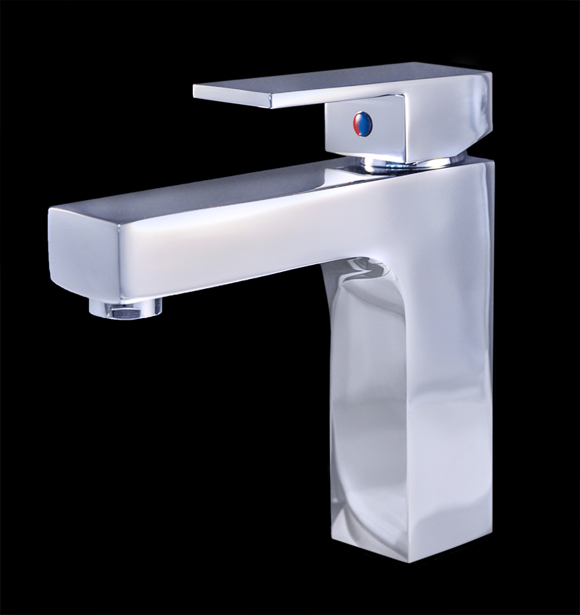 Bathroom Faucets Modern : bathroom sink faucets giovanni chrome finish modern bathroom faucet ...