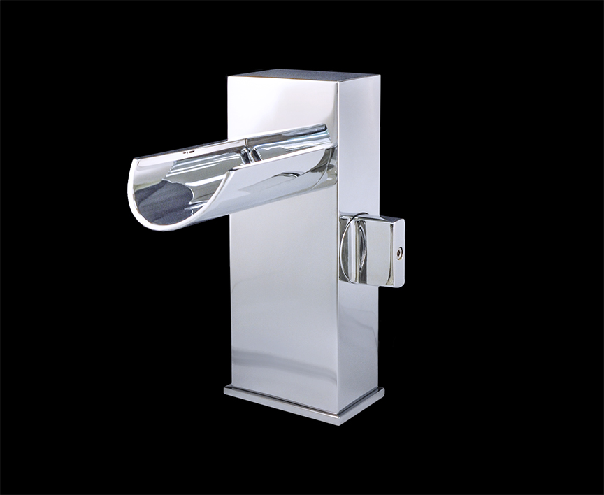 Melila I Chrome Finish Modern Bathroom Faucet