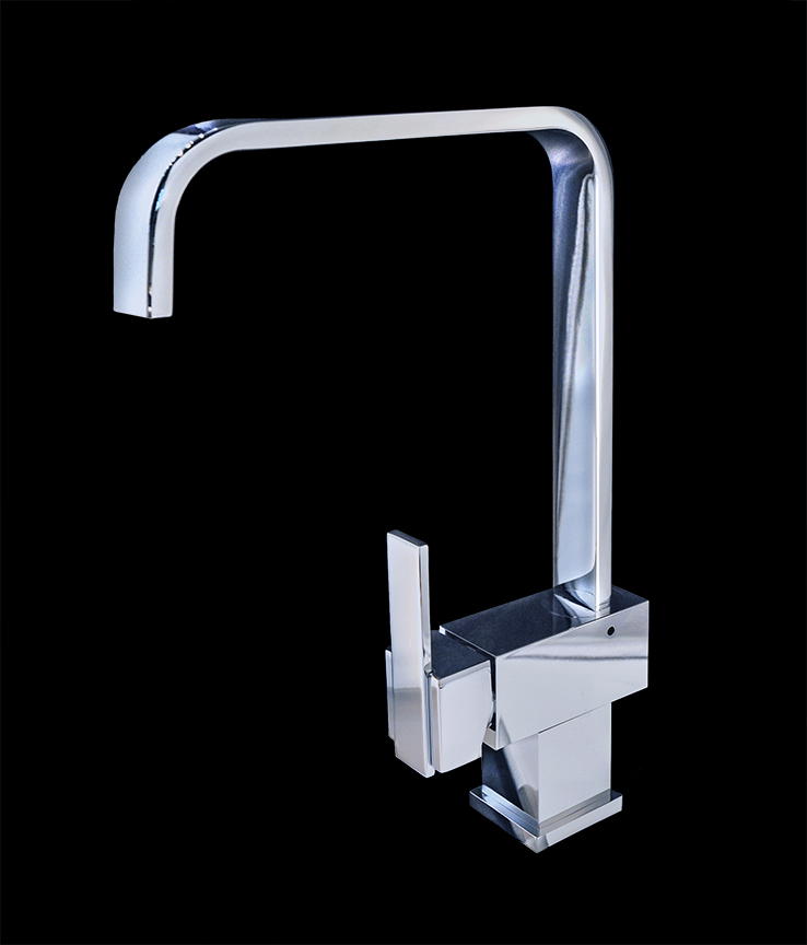 Bathroom Faucets Chrome : bathroom sink faucets piave chrome finish modern bathroom faucet tweet