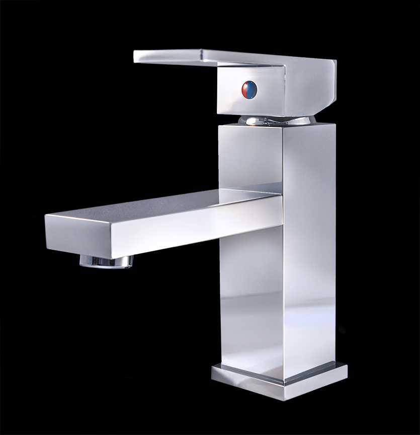 Bathroom Faucets Chrome : bathroom sink faucets rezzonico chrome finish modern bathroom faucet ...