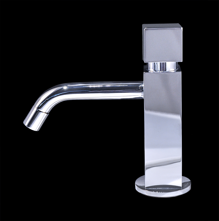 Bathroom Faucets Chrome : Zara - Chrome Finish Modern Bathroom Faucet