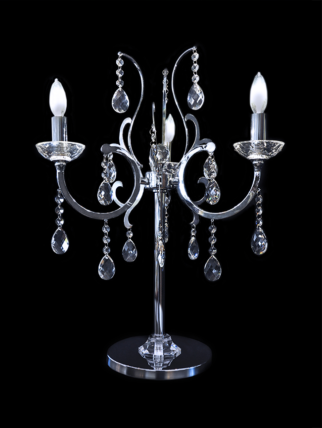 Chandelier table lamp - Chandelier desk lamp ...