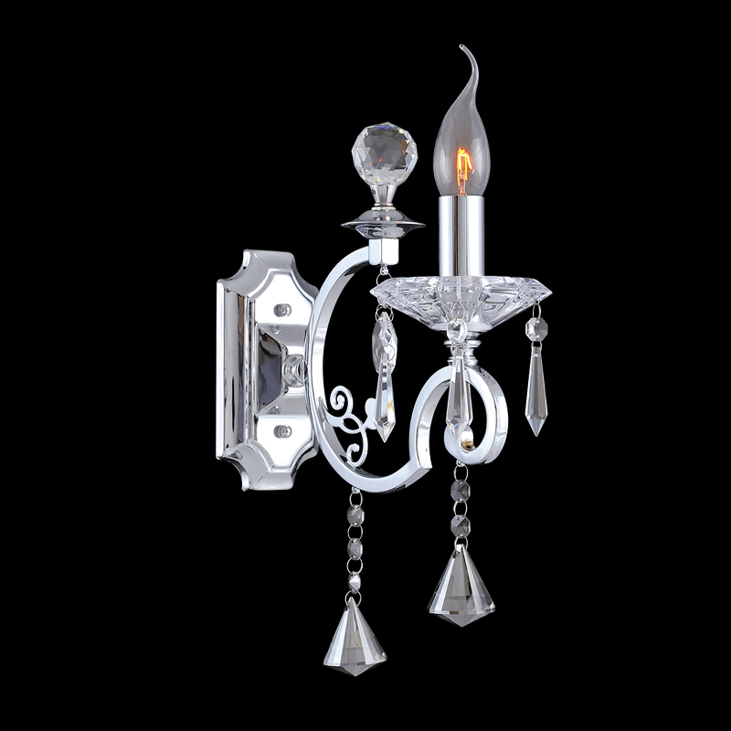 Wall Lamp Crystal Wall Sconce Wall Light Vercelli – Chandelier Sconces Wall