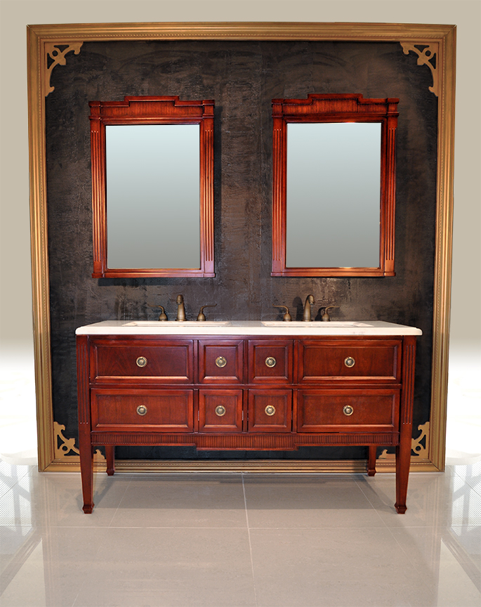 - Antique Vanity Set - Evelyn II