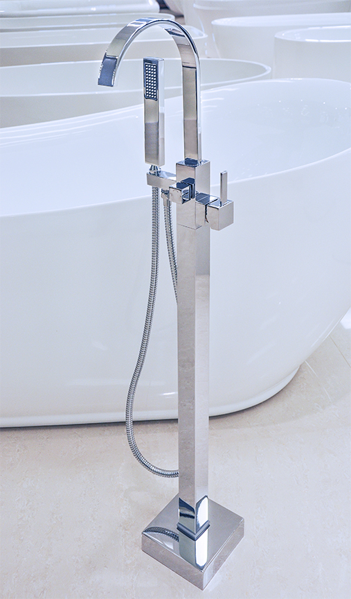 Delicieux Click To See Larger Image · Chieti   Modern Freestanding Bathtub Faucet