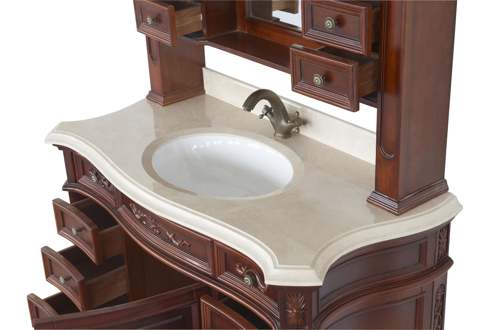 Constance Ii Antique Style Bathroom Vanity Single Sink 49 1