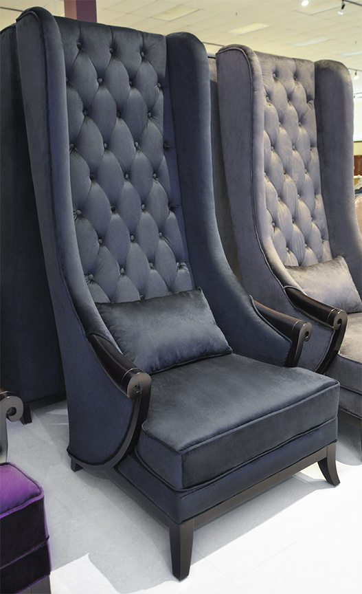 To See Larger Image Ss High Back Wing Chair