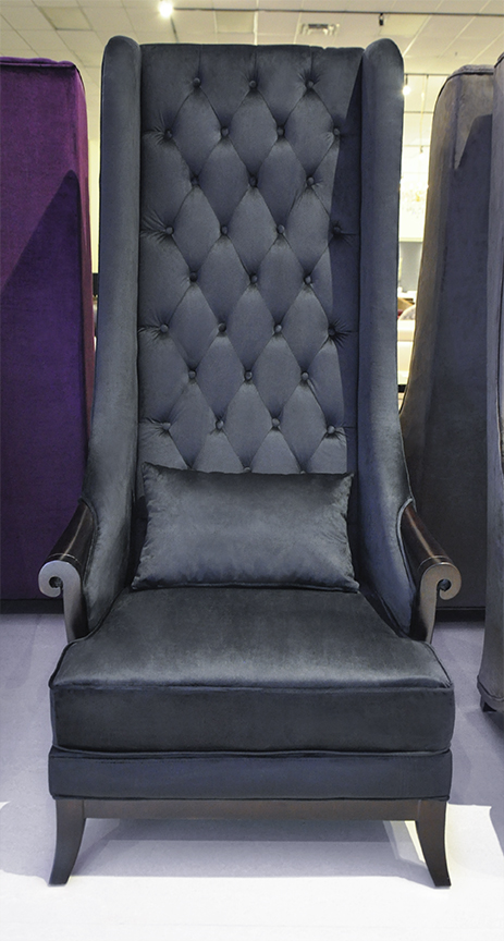 click to see larger image duchess high back wing chair - High Back Chairs For Living Room