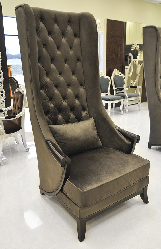 Stupendous High Back Wing Chair Duchess Mocha Ibusinesslaw Wood Chair Design Ideas Ibusinesslaworg