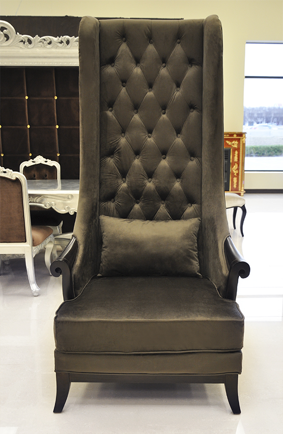 High Back Wing Chairs For Living Room : Clairelevy