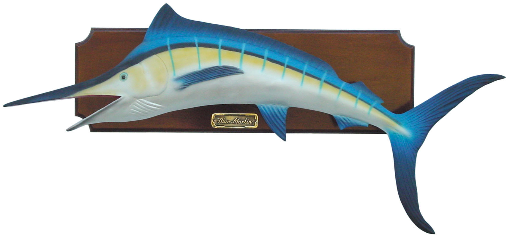Blue marlin fish wall decor for Fish wall decor