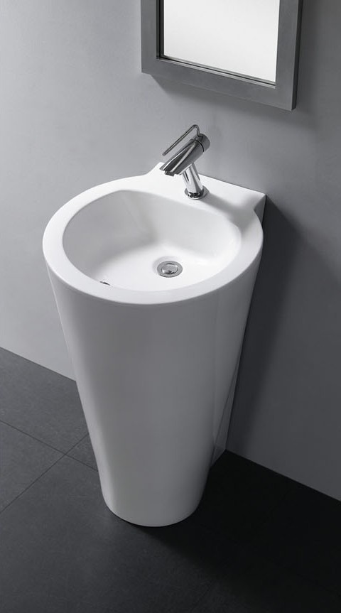 pedestal sinks durazza modern bathroom pedestal sink 20 1 tweet