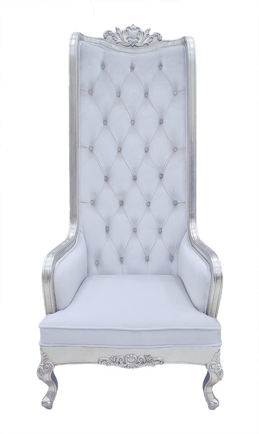 High Back Chair King Throne Snow White