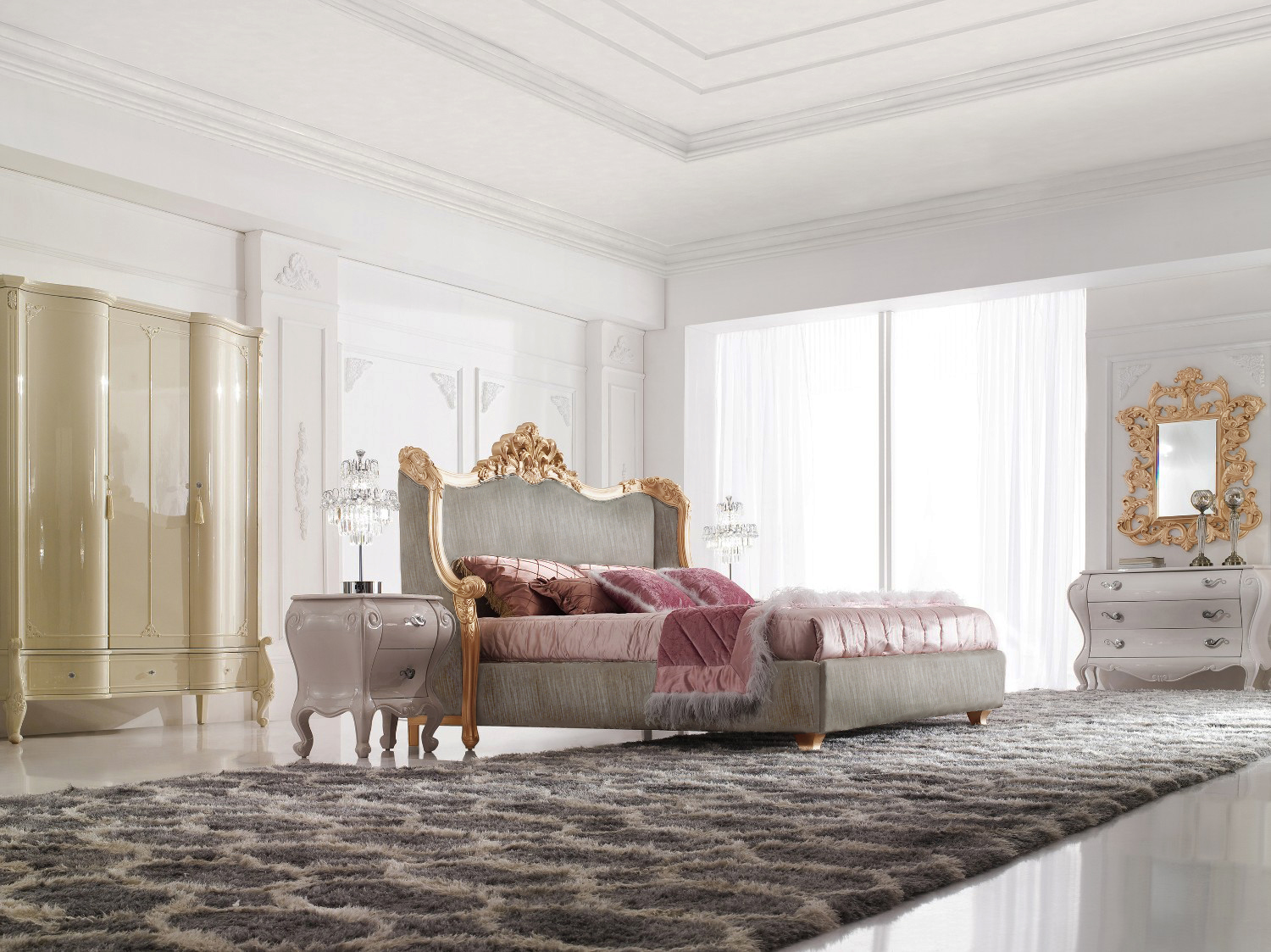 Modern Baroque Bedroom Baroque Bedroom Set