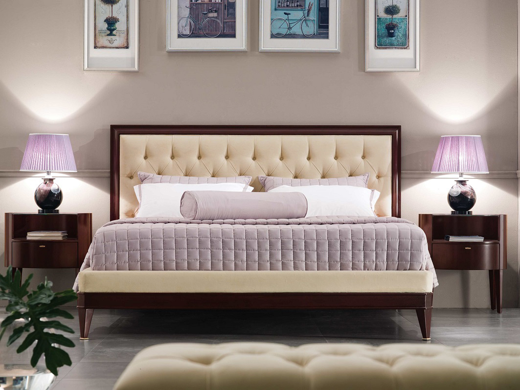 Luxury bed luxury bedroom set lincoln for Luxury bedroom furniture