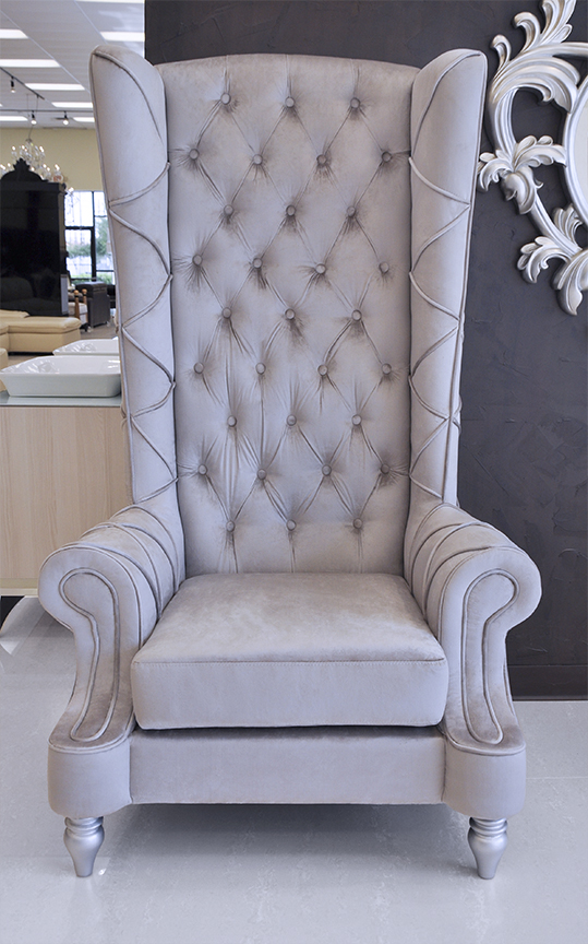 Click To See Larger Image. Baroque High Back Chair ...